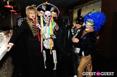 sushi in Patricia Field Aristo Halloween Party!