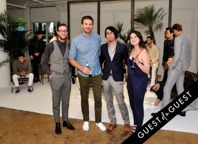 paul underwood in Bonobos Spring 2015 Collection Presentation