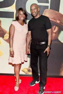 denzel washington in 2 Guns Movie Premiere NYC