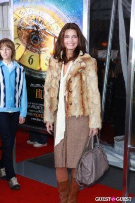 paulina porizkova in Martin Scorcese Premiere of