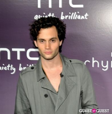 penn badgley in HTC Serves Up NYC Product Launch