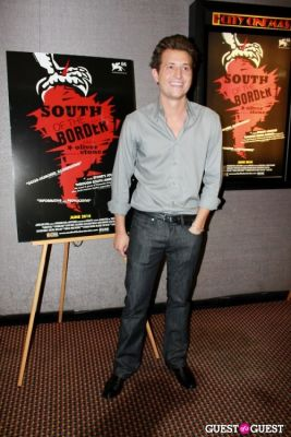 peter cincotti in NY Premiere of 'South of the Border'