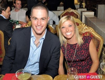 alex bass in DC Modern Luxury Magazine's Lindsey Becker's Dinner for 25 Tastemakers at SAX