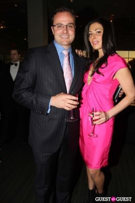 stacy london in American Cancer Society's Pink & Black Tie Gala