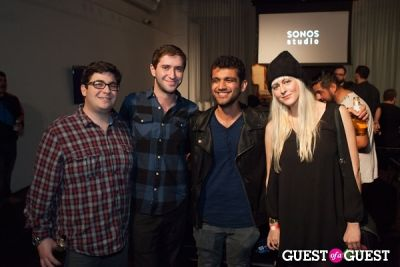 steven schutlz in An Evening with The Glitch Mob at Sonos Studio