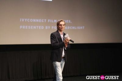 phillipp triebel in IvyConnect at Arclight Hollywood and The Living Room at the W Hotel
