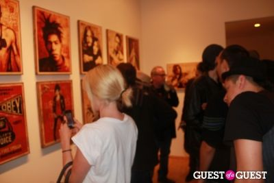phu styles in Shepard Fairey's Art Show
