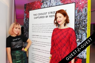 christine barberich in Refinery 29 Style Stalking Book Release Party