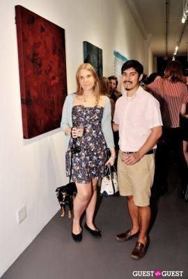 amanda rose-duncan in #PSEUDOreal exhibition opening at Judith Charles Gallery