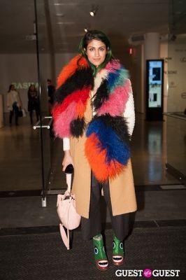 preetma singh in NYC Fashion Week FW 14 Street Style Day 6