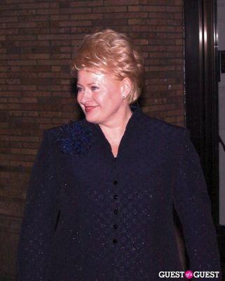 president of-lithuania-dalia-grybauskaite in Glamour - Women of the Year 2010