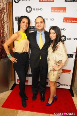 """carlos valverde in Launch Party at Bar Boulud - """"The Artist Toolbox"""""""