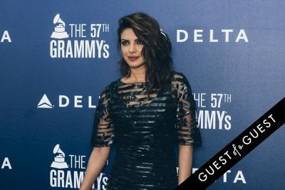 priyanka chopra in Delta Air Lines Kicks Off GRAMMY Weekend With Private Performance By Charli XCX & DJ Set By Questlove