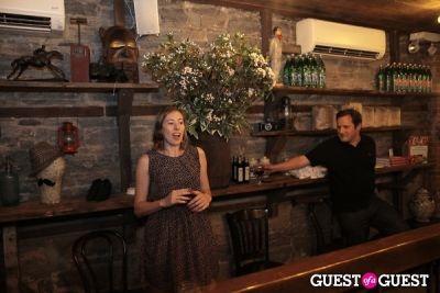 prune jakob in Sud de France Tasting Table at The Smile