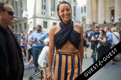 rachael wang in Fashion Week Street Style: Day 7