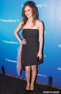 rachel bilson in BlackBerry Z10 Launch