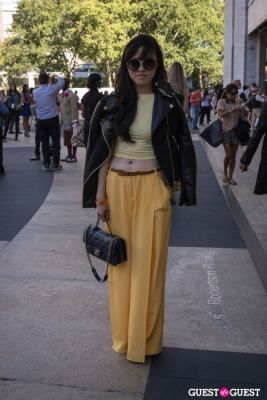 rachel effendy in NYFW 2013: Day 4 at Lincoln Center