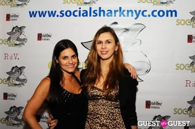 rachel golodetz in SocialSharkNYC.com Launch Party