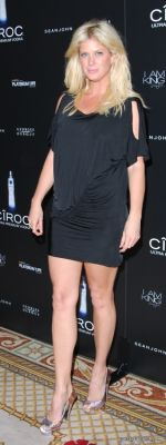 rachel hunter in Diddy 40th Birthday