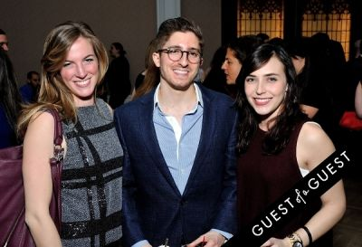 rachel lucine in The Jewish Museum's Vodka Latke Hanukkah Soiree
