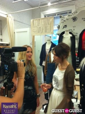 alexa chung in Alexa Chung for Madewell's FNO