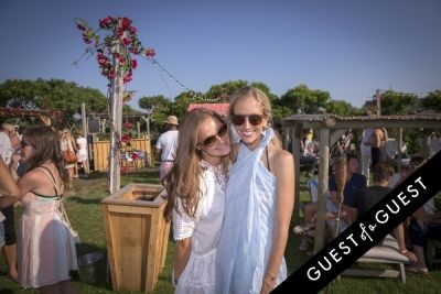 rachelle hruska-macpherson in GUEST OF A GUEST x DOLCE & GABBANA Light Blue Mediterranean Escape In Montauk