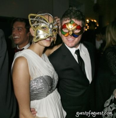nick dietz in Masquerade christmas party