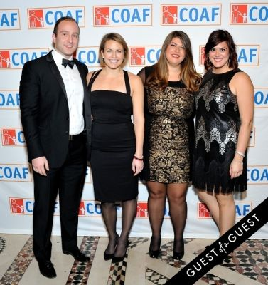 sabrina list in COAF 12th Annual Holiday Gala