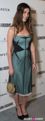 rainey qualley in British Fashion Council Present: LONDON Show ROOMS LA Cocktail Party