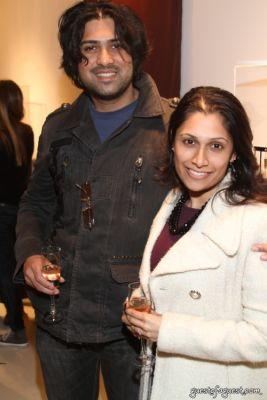 tara nyack in Saffronart Hanut Singh Preview