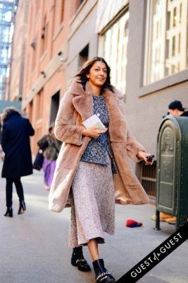 ramya giangola in NYFW Street Style Day 1