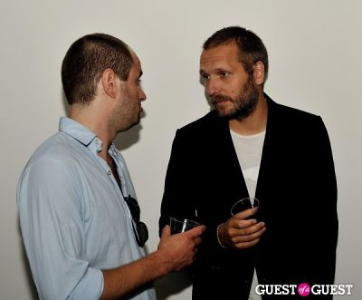 mikkel hess in Eske Kath - Blackboard Jungle Exhibition Opening Reception