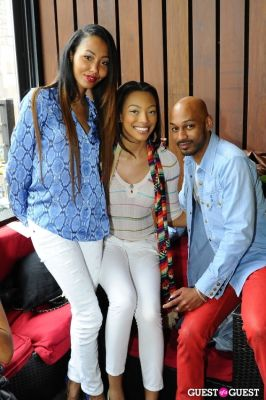 bianca golden in Everyday People Brunch at The DL Rooftop celebrating Chef Roble's Birthday