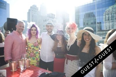 chris andrewsi in Kentucky Derby at The Roosevelt Hotel