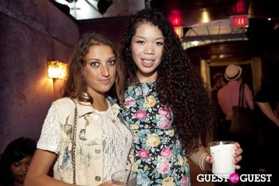 rebecca schroeder in Aliomi Launch Party