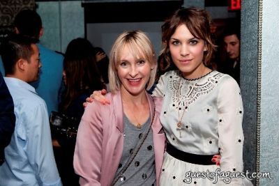 alexa chung in Rebecca Taylor At Rm.Fifty-5 Party