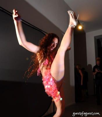 rebekah kennedy in Chelsea Museum of Art Party