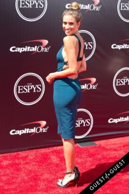 renee bargh in The 2014 ESPYS at the Nokia Theatre L.A. LIVE - Red Carpet