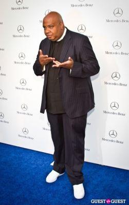 rev run in Mercedes Benz Manhattan Grand Opening