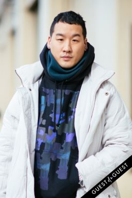 richard chai in NYFW Street Style Day 5