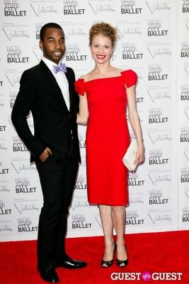 lauren king in New York City Ballet Fall Gala Celebrates Valentino