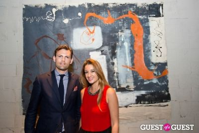 richard grindy in Preview Party for Billy Zane's Solo Art Exhibition: