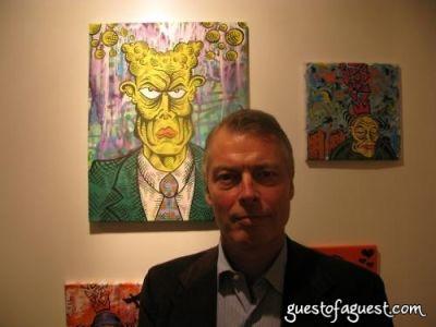 richard johnson in Damon Johnson Gallery Opening