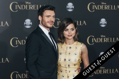 jenna coleman in Premiere of Disney's