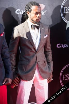 richard sherman in The 2014 ESPYS at the Nokia Theatre L.A. LIVE - Red Carpet