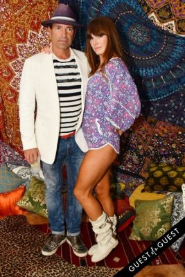 jane notar in Alice + Olivia Montauk Beach BBQ