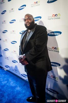 rick ross in Samsung Hope For Children Gala 2013