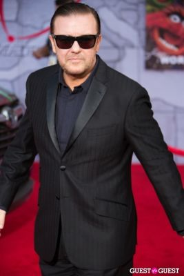 ricky gervais in Premiere Of Disney's
