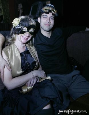 risa levine in Lydia Hearst's Masquerade Party