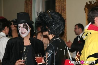 rob hoffman in Lovecat Magazine Halloween Dinner Hosted by Jessica White and Byrdie Bell